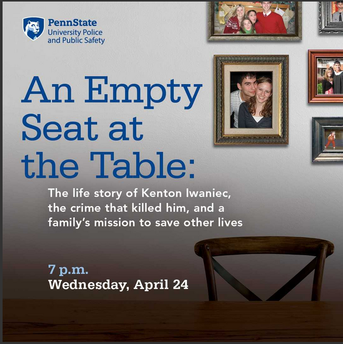 AN EMPTY SEAT AT THE TABLE