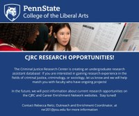CJRC Research Opportunities