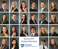 College of the Liberal Arts Selects Spring 2019 Student Marshals