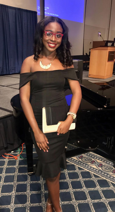 Congratulations to Sociology Undergraduate Student Awaly Diallo On Receiving the Stand Up Award!