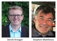 Derek Kreager and Stephen Matthews Named Liberal Arts Professors