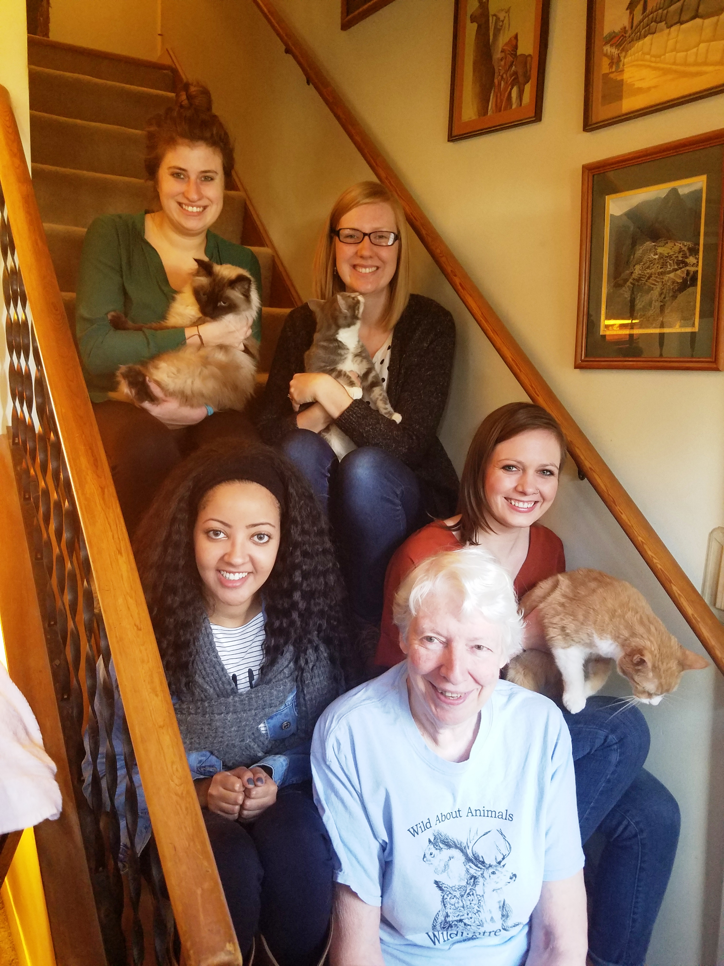 Graduate Students Raise Money for Local Animal Shelter
