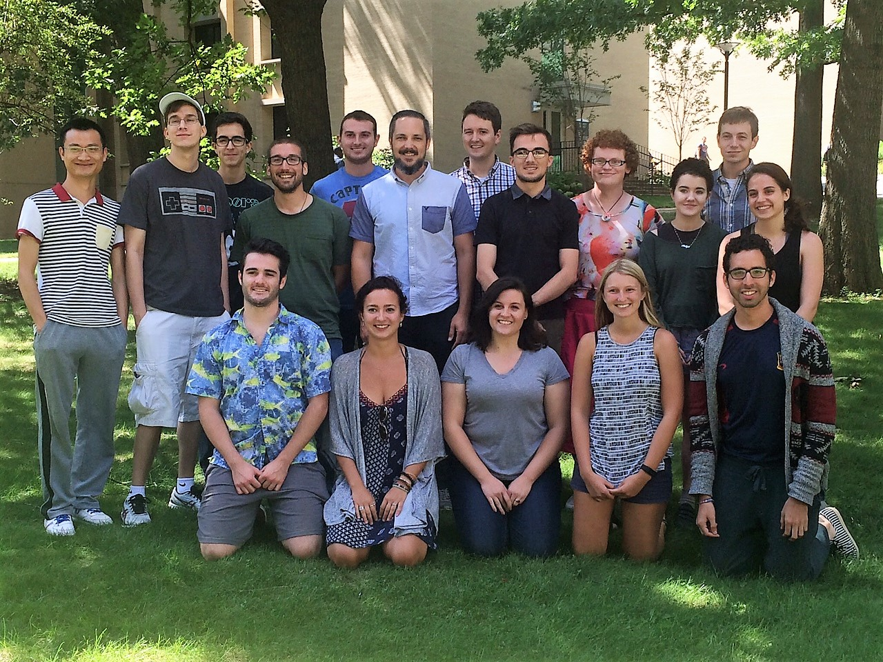 Welcome New Graduate Students!