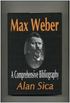 Max Weber Comprehensive Bibliography
