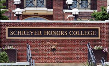 Image of Schreyer Honors College Building.